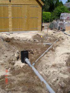 aanleg-waterafvoer